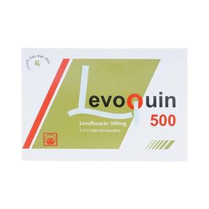 Levoquin 500Mg (Hộp 2 Vỉ X 4 Viên)