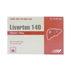 Liverton 140Mg (Hộp 10 vỉ x 10 viên )