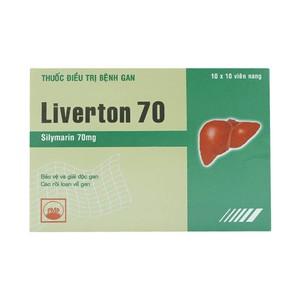 Liverton 70Mg (Hộp 10 Vỉ X 10 Viên)