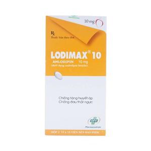 Lodimax 10 (Hộp 2 Vỉ x 10 Viên)