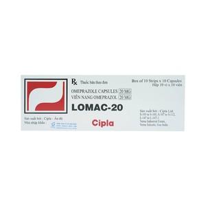 Lomac 20Mg (Hộp 10 Vỉ X 10 Viên)