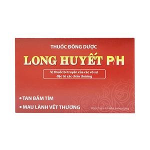 Long Huyết Ph - Tan Bầm Tím, Chữa Lành Vết Thương (Hộp 2 Vỉ x 12 Viên)