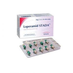 Loperamid 2Mg Stada (Hộp 5 Vỉ X 10 Viên)