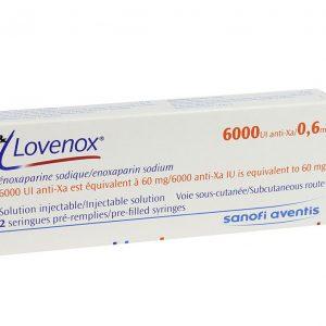 Lovenox 6000 (Hộp 2 Ống 6000)