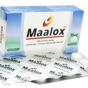 Maalox 800 (4 Vỉ X 12 Viên)