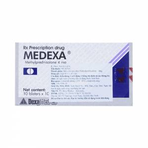 Medexa 16Mg (5 Vỉ X 6 Viên)
