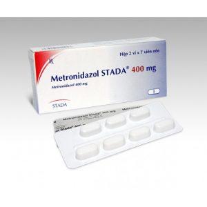 Metronidazol 400Mg (2 Vỉ X 7 Viên)