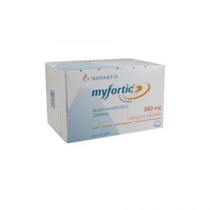 Myfortic 360Mg Novartis