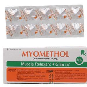 Myomethol 500Mg