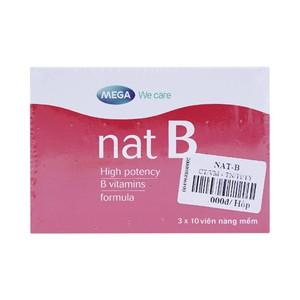 Nat-B 50Mg (Hộp 3 Vỉ X 10 Viên)