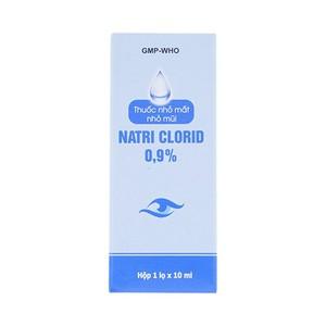Natri Clorid 0.9% Gia Nguyễn 10Ml - Thuốc Nhỏ Mắt Mũi (Chai 10ml)