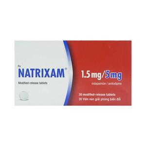 Natrixam 1.5Mg/5Mg Les 30V (Hộp 30 viên)