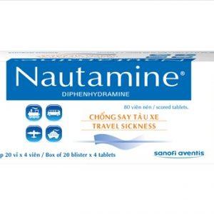 Nautamine (Hộp 20 Vỉ X 4 Viên)