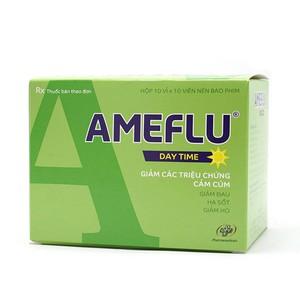 New Ameflu Daytime (Hộp 10 Vỉ X 10 Viên)
