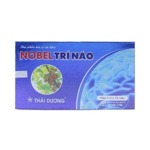 Nobel Trí Não Thái Dương 3X15 (Hộp 3 Vỉ x 15 Viên)