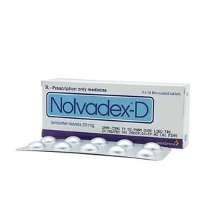 Nolvadex - D (Hộp 3 Vỉ x 10 Viên)