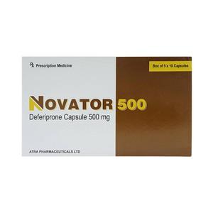 Novator 500 Atra 5X10 (Hộp 5 Vỉ x 10 Viên)