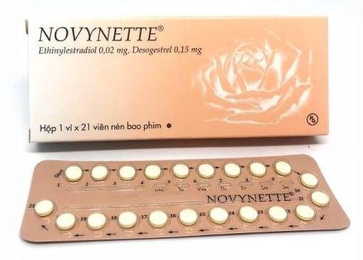Novynette 0.15Mg (Hộp 1 Vỉ x 21 Viên)
