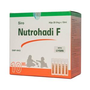 Nutrohadi F (Hộp 20 ống x 10ml)
