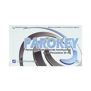 Parokey 20Mg (Hộp 3 Vỉ x 10 Viên)