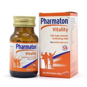 Pharmaton Vitality 30V (Hộp 1 Lọ 30 Viên)