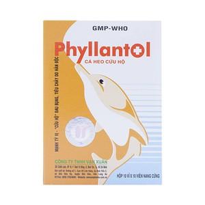 Phyllantol (Hộp 10 Vỉ x 10 Viên)