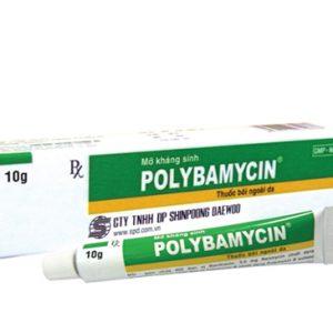 Polybamycin 400Iu (Hộp 1 Tuýp 10g)