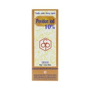 Povidon Iod 10% Opc (Hộp 1 Chai 20ml)