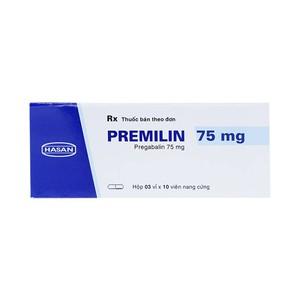 Premilin 75Mg (Hộp 3 vỉ x 10 viên)