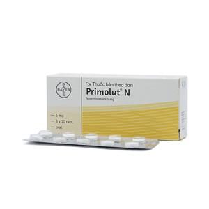 Primolut N (Hộp 3 vỉ x 10 viên)
