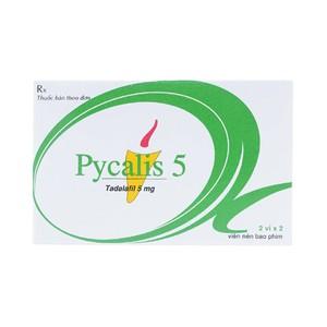 Pycalis 10Mg Pymepharco (Hộp 2 Vỉ x 2 Viên)