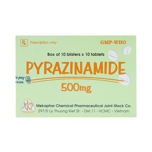 Pyrazinamide 500 (Hộp 10 vỉ x 10 viên)