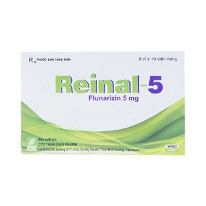 Reinal 5Mg (Hộp 6 Vỉ x 10 Viên)
