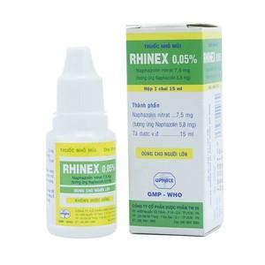 Rhinex 0,05% (Hộp 1 chai 15ml)