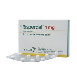 Risperdal 1Mg (Hộp 6 vỉ x 10 viên)