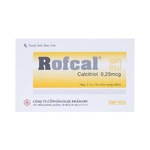 Rofcal (Hộp 3 vỉ x 10 viên)