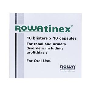 Rowatinex 100Mg (Hộp 10 vỉ x 10 viên)
