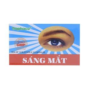 Sáng Mắt Traphaco 100V (Hộp 10 Vỉ x 10 Viên)