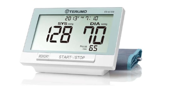 Máy đo huyết áp điện tử TERUMO ES-W100 loại đo cánh tay (Chính hãng)