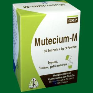 Mutecium M (30 GÓI X 1GRAM)