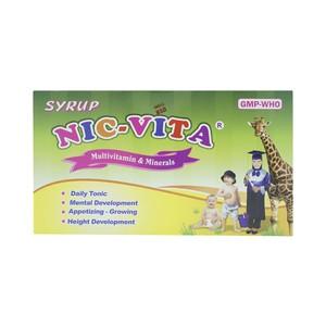 Siro Nic-Vita Nic (Hộp 20 Ống X 10Ml)