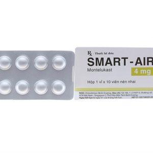 Smart-Air 4Mg (Hộp 1 Vỉ x 10 Viên)