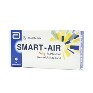 Smart - Air 5Mg (Hộp 1 Vỉ x 10 Viên)