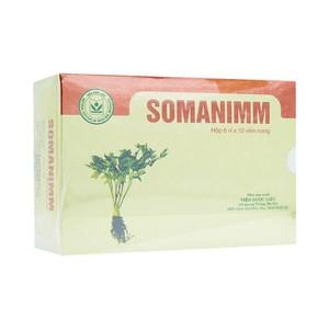 Somanimm - Hỗ Trợ Điều Trị Suy Giảm Hệ Miễn Dịch (Hộp 6 Vỉ x 10 Viên)