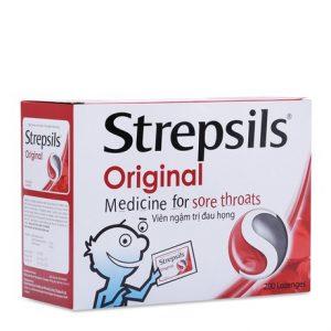 Strepsils Original 200 Viên (Hộp 100 gói x 2 viên)