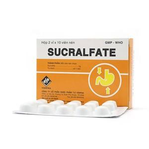 Sucralfate (Hộp 2 vỉ x 10 viên)
