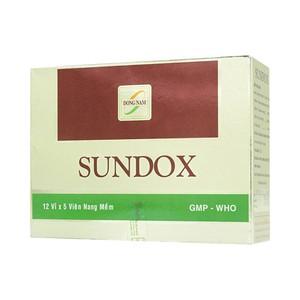 Sundox 500Mg Đông Nam 12X5 (Hộp 12 Vỉ x 5 Viên)