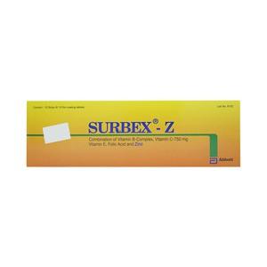 Surbex-Z (Hộp 10 Vỉ x 10 Viên)