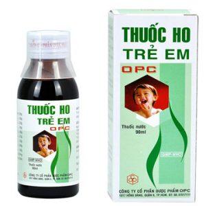 Thuốc Ho Opc Trẻ Em 90Ml