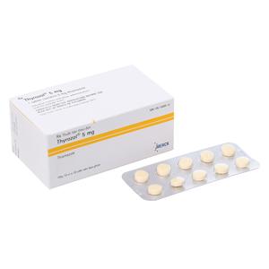 Thyrozol 5Mg (10 vỉ x 10 viên)